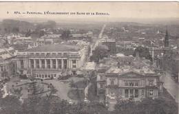 CPA SPA Panorama L'établissement Des Bains Et Le Kursall 1913 - Spa