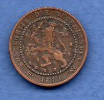 Pays Bas  - 1 Cent 1880   - état  TB - 1 Cent