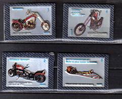 H127 - 4 IMAGES NESTLE - MOTOS - Motos