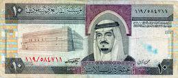 Billet De 10 Riyals N D (1983) Arabie Saoudite - - Saudi Arabia