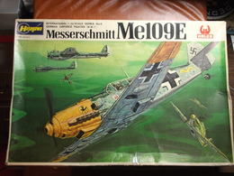 Maquette Plastique - Avion Messerschmitt Me109E Au 1/32 - Hasegawa Hales N°JS-073 - Avions