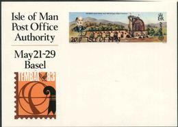 1983 Europa C.E.P.T., Cartolina Postale Isola Man, Serie Completa Nuova (**) - Europa-CEPT