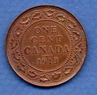 Canada - 1 Cent 1913  - état  TB+ - Canada