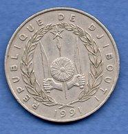 Djibouti  - 100 Francs 1991  - état  TTB - Dschibuti