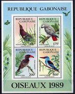 """Gabon Bloc YT 57 """" Oiseaux """" 1989 Neuf** - Gabon (1960-...)"""