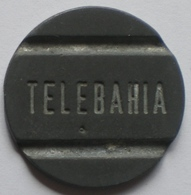 Brasil Telephone Token   TELEBAHIA  FONTAMAC  Big  F - Noodgeld
