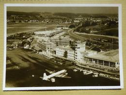 AEROPORT / AIRPORT / FLUGHAFEN        ZURICH 1959 CARTE MODERNE - Aerodromi
