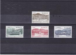 NORVEGE 1981 BATEAUX   Yvert 797-800 NEUF** MNH - Norvège