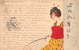 Illustrateur - SAN.TUY. Geisha, Japonaise. - Illustratori & Fotografie