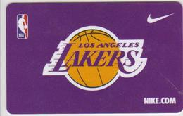 GIFT CARD - USA - NIKE - BASKETBALL - LOS ANGELES LAKERS - NBA - Tarjetas De Regalo