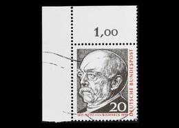 BRD 1965, Michel-Nr. 463, 150. Geburtstag Von Otto Fürst Von Bismarck, Eckrand Links Oben, Gestempelt, - BRD