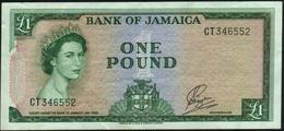 JAMAICA - 1 Pound L.1960 (1964) VF P.51 Ca - Jamaique