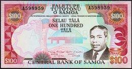 SAMOA 100 $  1990   UNC! - Samoa