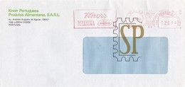 1985 Publicité Par Courrier Knorr Maizena Alsa Produtos Alimentares Produits Alimentaires Food Products Nahrungsmittel - Reclame