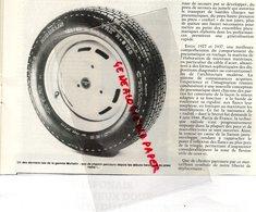 63- CLERMONT FERRAND-ETATS UNIS AMERIQUE-ARTICLE NAISSANCE DU PNEU MICHELIN - E. LAMBERJACK -SAMSON COVERING- RARE PHOTO - Métiers