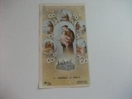 SANTINO HOLY PICTURE IMAGE SAINTE SANT'ANTONIO DA PADOVA RESPONSORIO PIEGA - Religione & Esoterismo