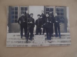 CPA Photo Militaria Militaires Poilus SHRD Au 37° Régiment D'infanterie Mobilisation - Guerre 1914-18