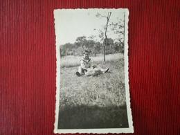 RÉVÉREND DOYEN DE YVOIR ABBÉ ROGER WOINE PHOTO QUAND IL AVAIT 7 ANS  + 2 CARTES PHOTOS  YVOIR NAMUR WALLONIE BELGIQUE - Personnes Identifiées