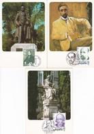 España Nº 2646 Al 2648 En Tarjetas - 1931-Hoy: 2ª República - ... Juan Carlos I