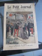 Le Petit Journal N° 569 Chine : Retour Militaires Gal Voyron Marseille / Transvaal Camps Reconcentration 13 Oct 1901 - Journaux - Quotidiens