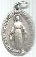 Religione, 1830 O Marie Conçue Sans Peché Priez Pour Nous...ag. Cm. 2 X 2,5, Gr. 3,35. - Altri