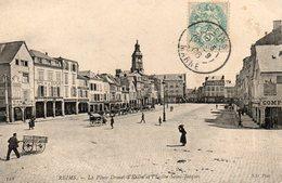 Reims -     La  Place  Drouet  D' Erlon  Et  L' église  St - Jacques - Reims