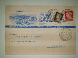 CP261-Cartolina Pubblicitaria Fidass - Fabbrica Italiana Dolci Affini - Serravalle Libarna - 1900-44 Victor Emmanuel III