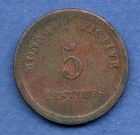 Gand  -  Monnaie Fictive   -  5 Centimes 1837  -  état  TB - 03. 5 Centimes