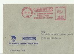 DDR CV 1983 Aus Mansfelkd Lutherstadt - DDR