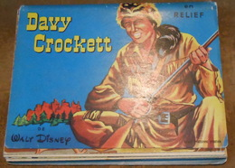 Davy Crockett En Relief- Pop-up - Livres, BD, Revues