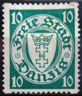 DANTZIG                            N° 178                         NEUF SANS GOMME - Dantzig