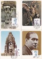 España Nº 2705 Al 2708 En Tarjetas - 1931-Hoy: 2ª República - ... Juan Carlos I