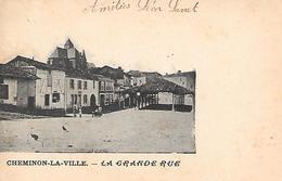 CHEMINON   ( 51 )  -  La Grande Rue - France