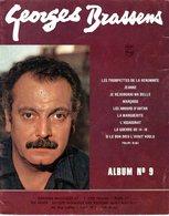 GEORGES BRASSENS - ALBUM N° 9 DE 9 PARTITONS - EXCELLENT ETAT - - Musik & Instrumente