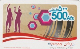 PREPAID PHONE CARD AFGANISTAN (E43.20.4 - Afghanistan