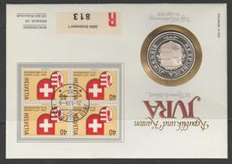 Jura 23e Canton De La Confédération - Suisse
