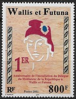 2001 Wallis Et Futuna N° 560   Nf** MNH .1er Anniv.de L'installation Du Délégué Du Médiateur De La République - Wallis And Futuna