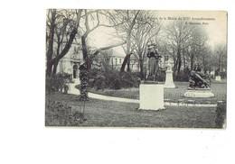 Cpa - 75 - PARIS - Square De La Mairie Du XIVe Arrondissement - P. Marmuse - 1906 - Statue Cheval - District 14