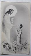Image Pieuse PC 262  1ère Communion Lucien Favre Arthies 18 Juin 1950 - Santini