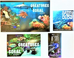 # Palau 2011**Mi.3141-50 Dangerous Marine Animals , MNH [15;59-60] - Mundo Aquatico