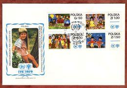 FDC, Jahr Des Kindes, Warszawa 1979 (72990) - FDC
