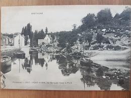 Pont Aven.les Barques Dans Le Port.édition MTIL 1007 - Pont Aven
