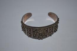Bracelet Ancien Argent 950 Asiatique 42.93g - Bracelets