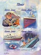 Z08 SRL190312a Sierra Leone 2019 Titanic MNH ** Postfrisch - Sierra Leone (1961-...)