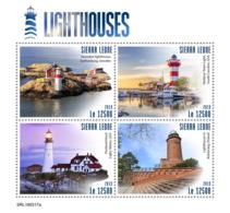 Z08 SRL190317a Sierra Leone 2019 Lighthouses MNH ** Postfrisch - Sierra Leone (1961-...)