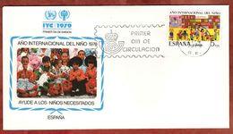 FDC, Jahr Des Kindes, Barcelona 1979 (72994) - FDC