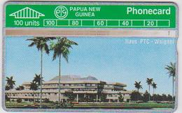 PAPUA NEW GUINEA - WAIGANI HOUSE 100 UNITS - RARE! - Papua New Guinea