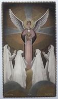 Image Pieuse Souvenir  Josette Duvivier St Aignan D'Arthies 20 Juin 1954 Morel 32 264 - Images Religieuses