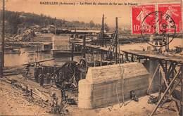 CPA BAZEILLES ( Ardennes ) - Le Pont Du Chemin De Fer Sur La Meuse - France