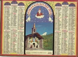 Calendrier PTT 1959 - La Chapelle De Méribel - Big : 1941-60